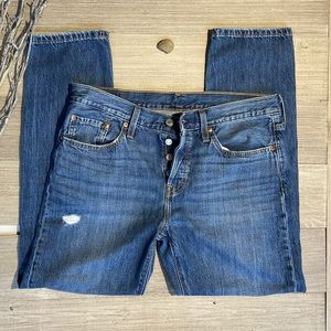 Levi's 501 T Button Fly Jeans 29/28